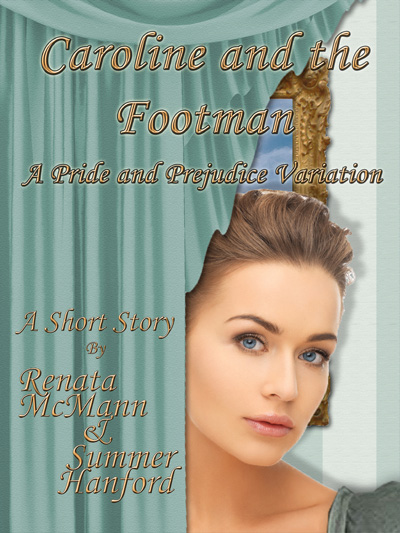 Caroline and the Footman Cover