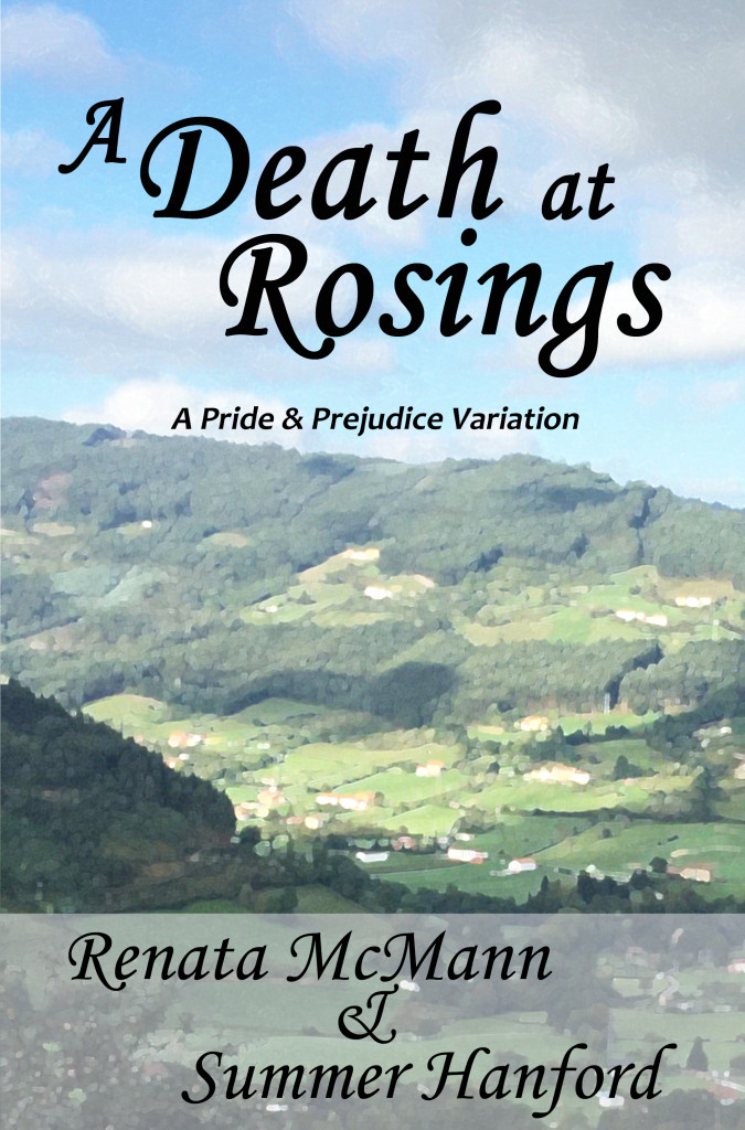 A Death at Rosings Front Cover